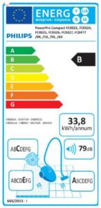 Beispiel eines EU-Energielabel